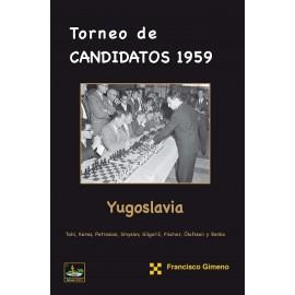 TORNEO DE CANDIDATOS 1959 YUGOSLAVIA