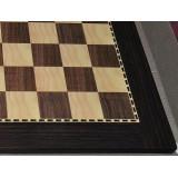 Tablero de madera palisandro «CHESSY» con bolsa lona acolchada para guardar el tablero