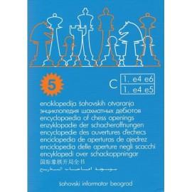 ENCICLOPEDIA DE APERTURAS Tomo C (5ª Edición)