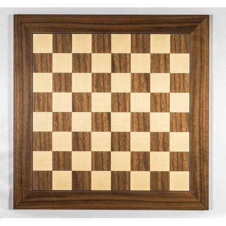 Tablero de madera nogal «Lujo Grandes Torneos»