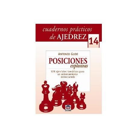 CUADERNOS PRÁCTICOS DE AJEDREZ (14) Posiciones explosivas