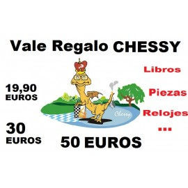 VALE REGALO «CHESSY»