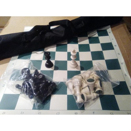 Juego de ajedrez modelo «TUBO»