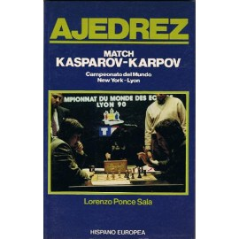 MATCH KASPAROV VS. KARPOV