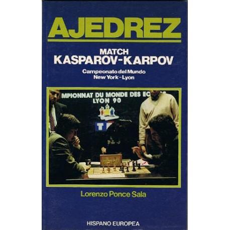 MATCH KASPAROV VS. KARPOV